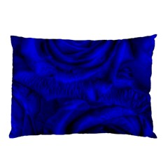 Gorgeous Roses,deep Blue Pillow Cases (two Sides)