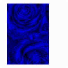 Gorgeous Roses,deep Blue Small Garden Flag (Two Sides)