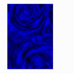 Gorgeous Roses,deep Blue Large Garden Flag (Two Sides)