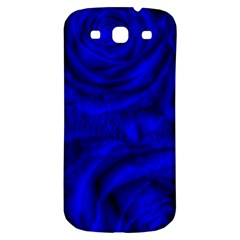 Gorgeous Roses,deep Blue Samsung Galaxy S3 S Iii Classic Hardshell Back Case