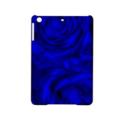 Gorgeous Roses,deep Blue Ipad Mini 2 Hardshell Cases