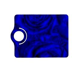 Gorgeous Roses,deep Blue Kindle Fire Hd (2013) Flip 360 Case