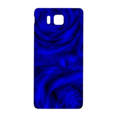Gorgeous Roses,deep Blue Samsung Galaxy Alpha Hardshell Back Case