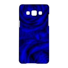 Gorgeous Roses,deep Blue Samsung Galaxy A5 Hardshell Case