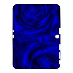 Gorgeous Roses,deep Blue Samsung Galaxy Tab 4 (10.1 ) Hardshell Case