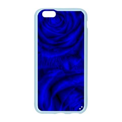 Gorgeous Roses,deep Blue Apple Seamless iPhone 6 Case (Color)