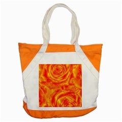 Gorgeous Roses, Orange Accent Tote Bag