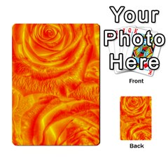 Gorgeous Roses, Orange Multi-purpose Cards (Rectangle)