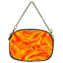 Gorgeous Roses, Orange Chain Purses (one Side)
