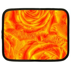 Gorgeous Roses, Orange Netbook Case (xxl)