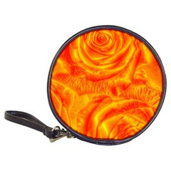 Gorgeous Roses, Orange Classic 20 Cd Wallets