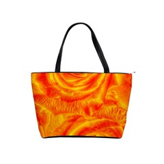 Gorgeous Roses, Orange Shoulder Handbags