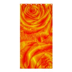 Gorgeous Roses, Orange Shower Curtain 36  x 72  (Stall)