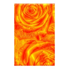 Gorgeous Roses, Orange Shower Curtain 48  x 72  (Small)