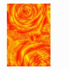 Gorgeous Roses, Orange Small Garden Flag (two Sides)