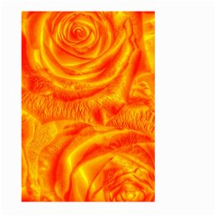Gorgeous Roses, Orange Large Garden Flag (Two Sides)