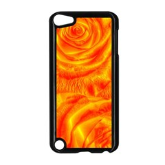 Gorgeous Roses, Orange Apple Ipod Touch 5 Case (black)