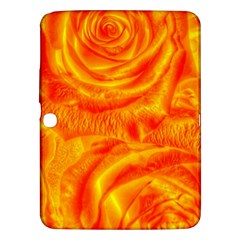 Gorgeous Roses, Orange Samsung Galaxy Tab 3 (10 1 ) P5200 Hardshell Case