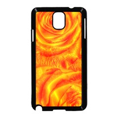 Gorgeous Roses, Orange Samsung Galaxy Note 3 Neo Hardshell Case (black)