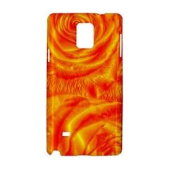 Gorgeous Roses, Orange Samsung Galaxy Note 4 Hardshell Case