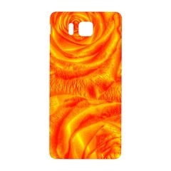 Gorgeous Roses, Orange Samsung Galaxy Alpha Hardshell Back Case