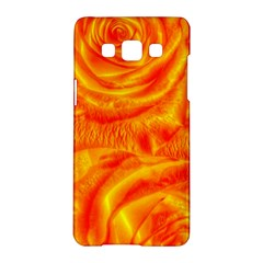 Gorgeous Roses, Orange Samsung Galaxy A5 Hardshell Case
