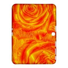 Gorgeous Roses, Orange Samsung Galaxy Tab 4 (10.1 ) Hardshell Case