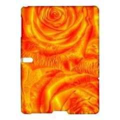 Gorgeous Roses, Orange Samsung Galaxy Tab S (10 5 ) Hardshell Case