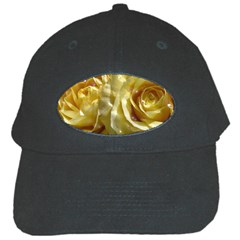 Yellow Roses Black Cap