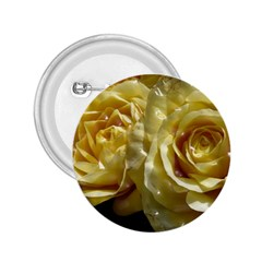 Yellow Roses 2.25  Buttons