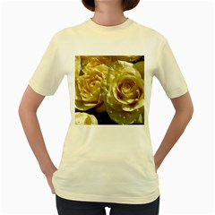 Yellow Roses Women s Yellow T-Shirt