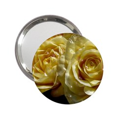 Yellow Roses 2 25  Handbag Mirrors