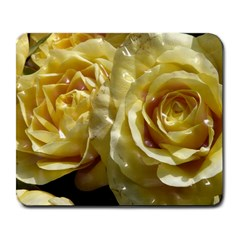 Yellow Roses Large Mousepads