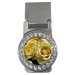 Yellow Roses Money Clips (cz)
