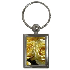 Yellow Roses Key Chains (rectangle)