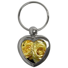 Yellow Roses Key Chains (heart)