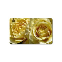 Yellow Roses Magnet (name Card)
