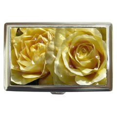 Yellow Roses Cigarette Money Cases