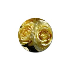 Yellow Roses Golf Ball Marker (4 Pack)