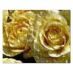 Yellow Roses Rectangular Jigsaw Puzzl