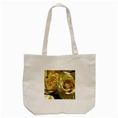 Yellow Roses Tote Bag (cream)