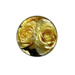 Yellow Roses Hat Clip Ball Marker (4 Pack)