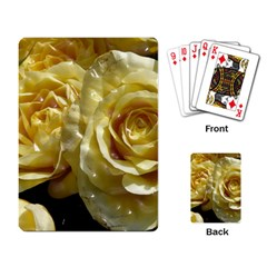 Yellow Roses Playing Card