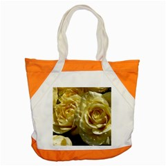 Yellow Roses Accent Tote Bag