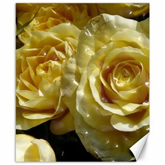 Yellow Roses Canvas 8  X 10