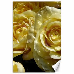 Yellow Roses Canvas 20  X 30