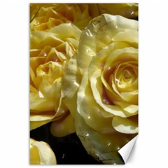 Yellow Roses Canvas 24  X 36
