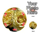 Yellow Roses Playing Cards 54 (Round)  Front - Heart10