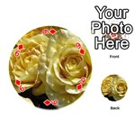Yellow Roses Playing Cards 54 (Round)  Front - Diamond9