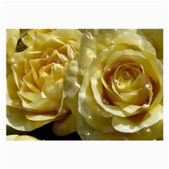 Yellow Roses Large Glasses Cloth (2 Side)